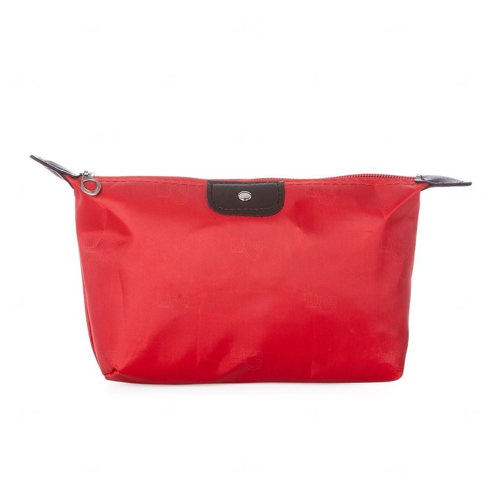 Necessaire Nylon Personalizada Vermelho