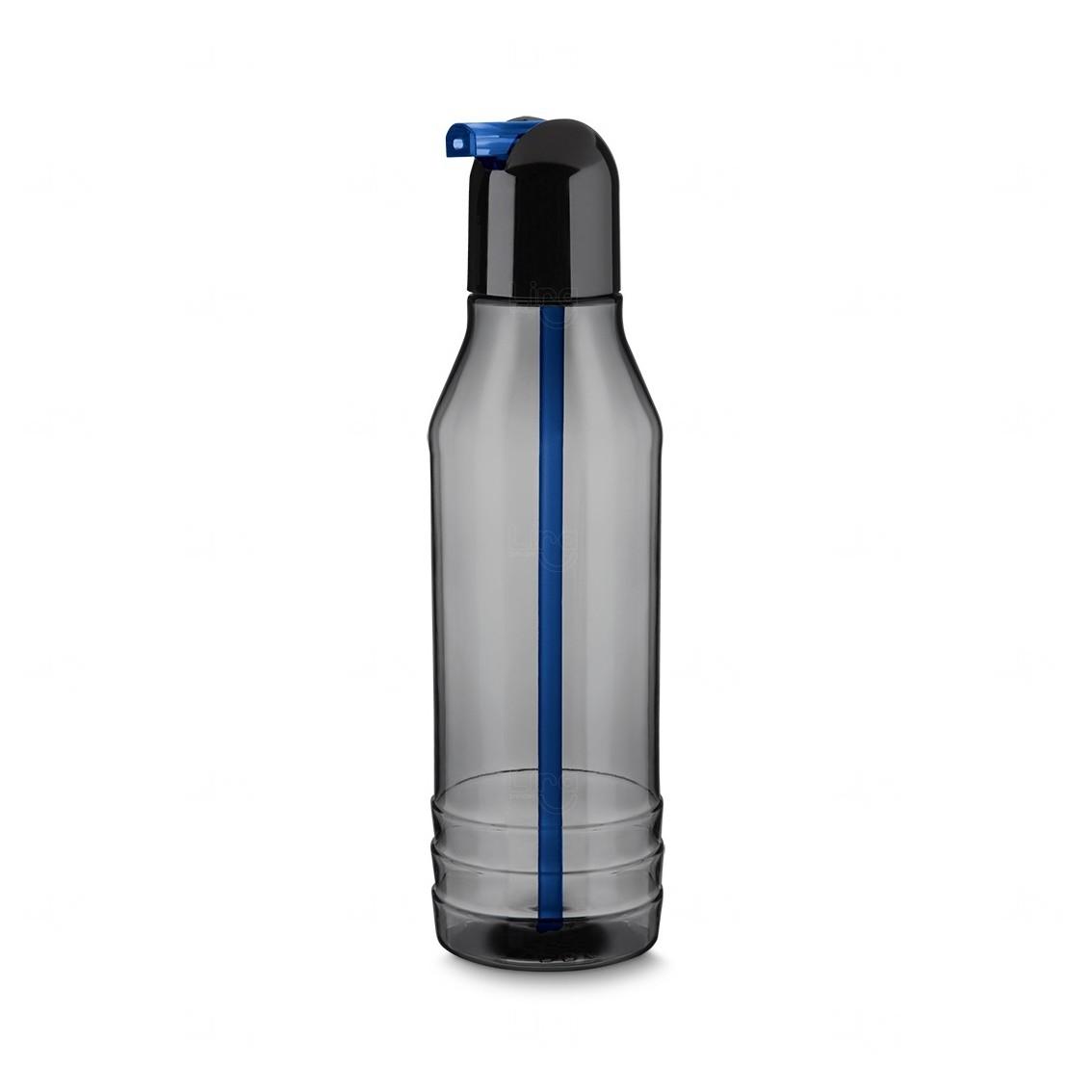 Garrafa Squeeze Plástico Personalizada - 600 ml Azul