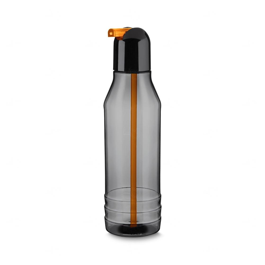 Garrafa Squeeze Plástico Personalizada - 600 ml