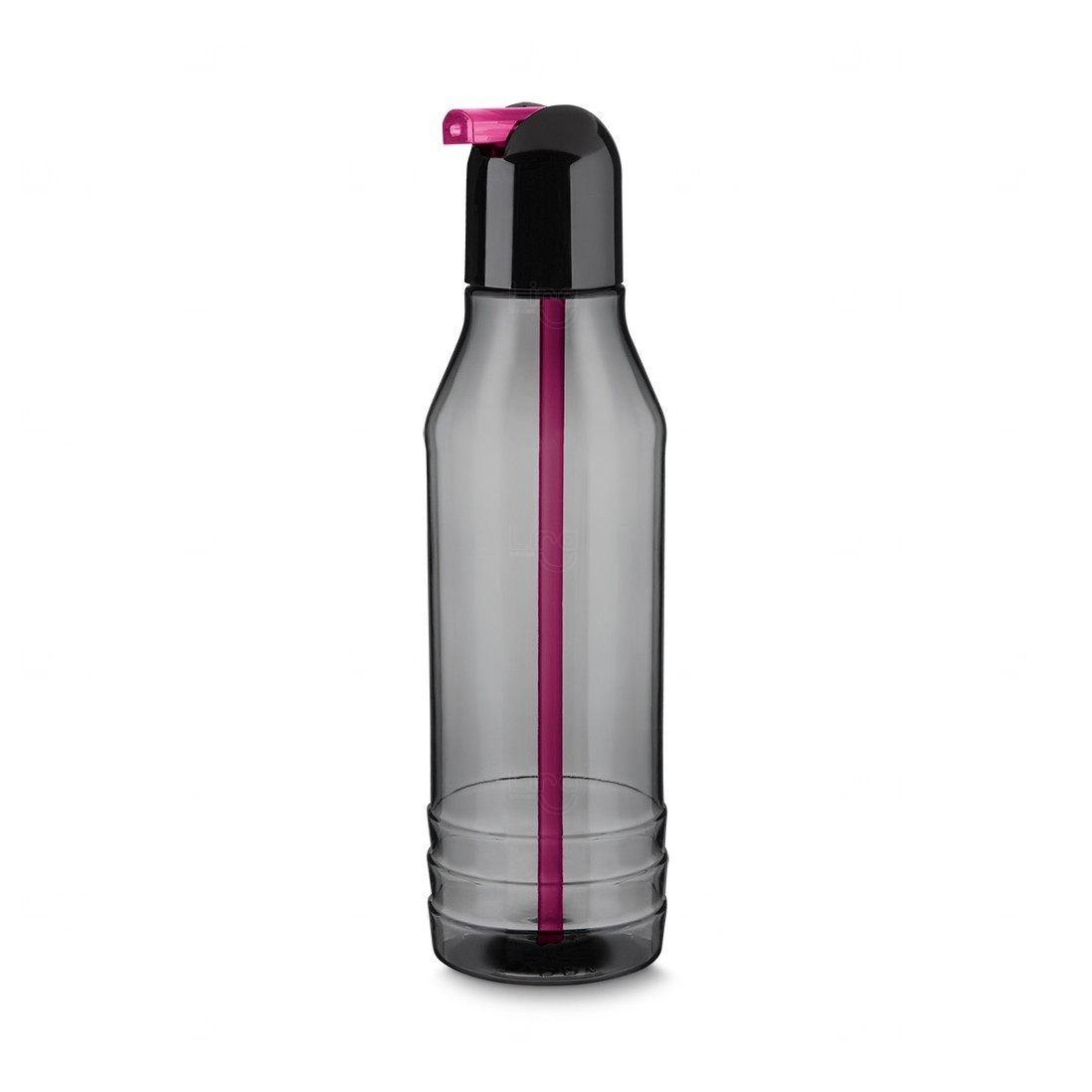 Garrafa Squeeze Plástico Personalizada - 600 ml Rosa