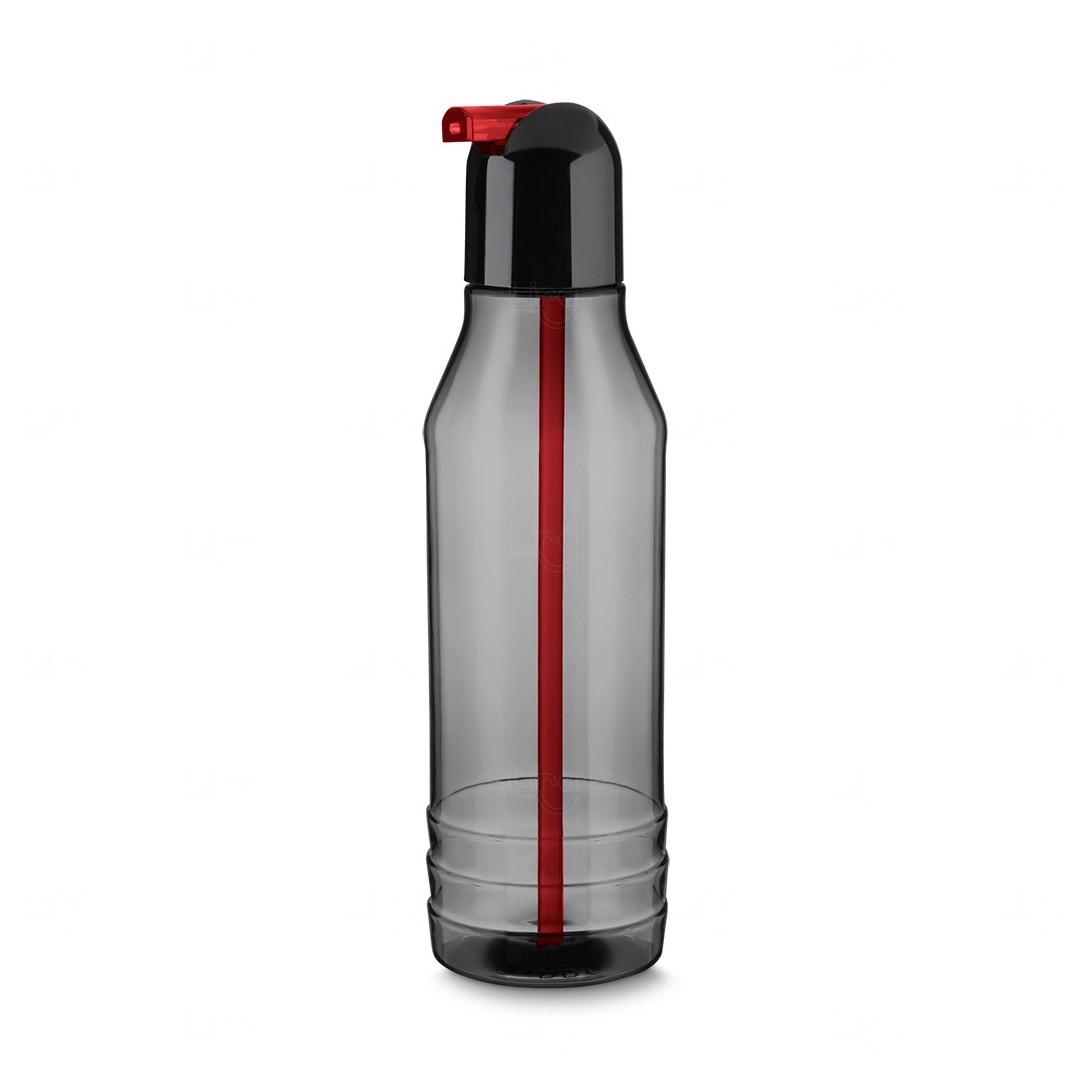 Garrafa Squeeze Plástico Personalizada - 600 ml Vermelho