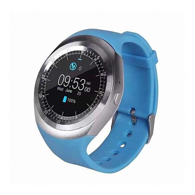 Relógio Smartwatch Personalizado Matrix Azul