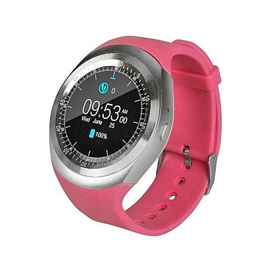 Relógio Smartwatch Personalizado Matrix Rosa