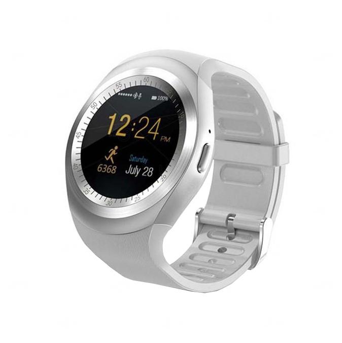 Relógio Smartwatch Personalizado Matrix Prata