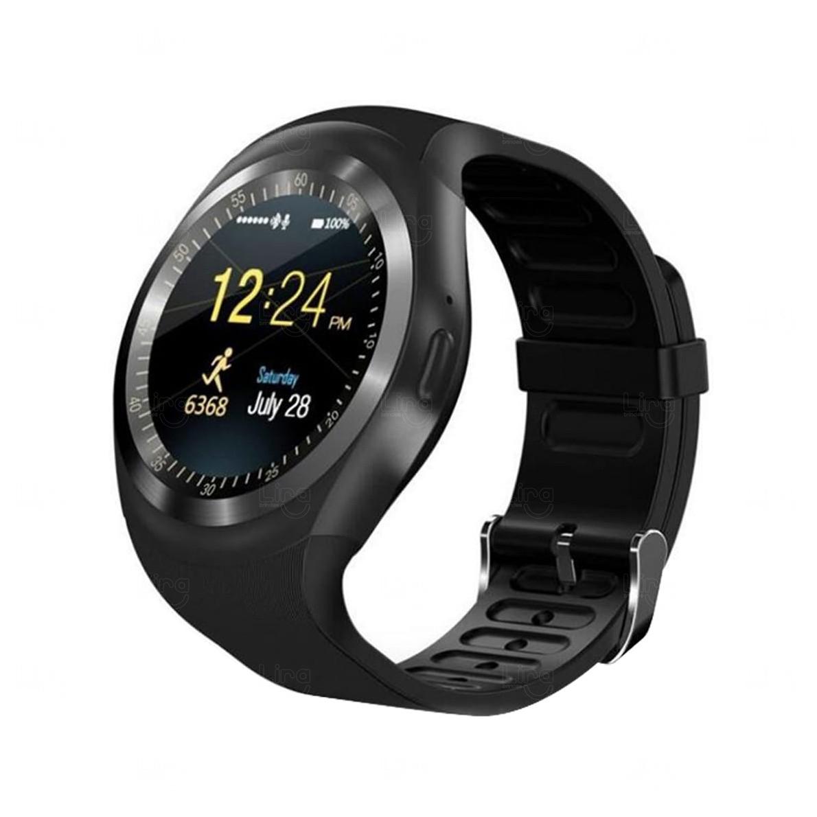 Relógio Smartwatch Personalizado Matrix Preto