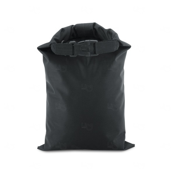 Sacola Personalizada Impermeável Fitness Preto