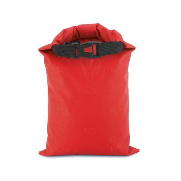 Sacola Personalizada Impermeável Fitness Vermelho
