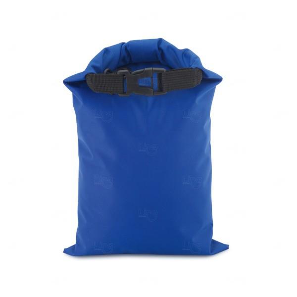 Sacola Personalizada Impermeável Fitness Azul