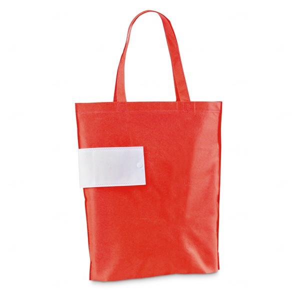 Sacola TNT Dobrável Personalizada Vermelho