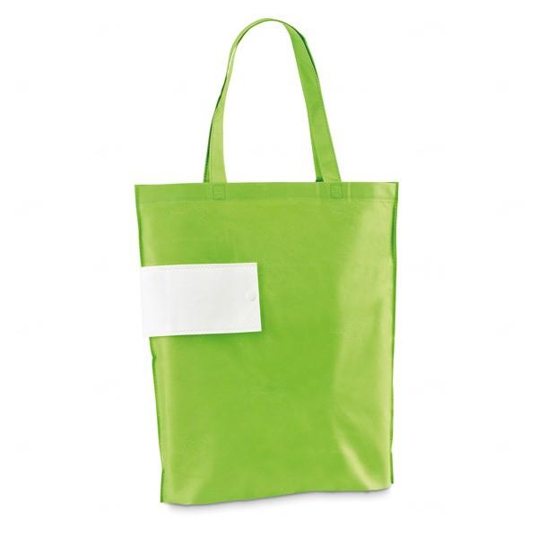 Sacola TNT Dobrável Personalizada Verde