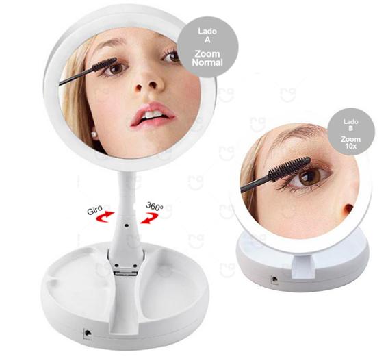 Espelho Camarim Portátil Personalizado