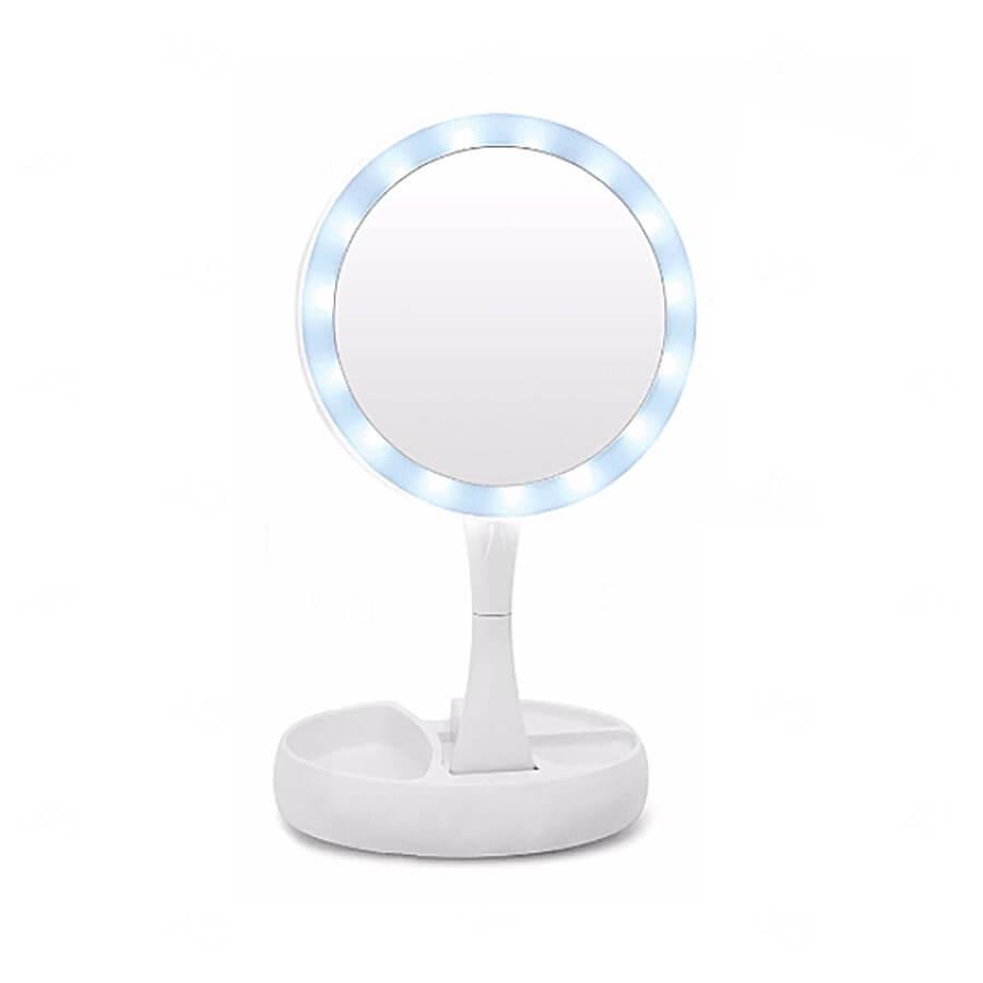 Espelho Camarim Portátil Personalizado Branco