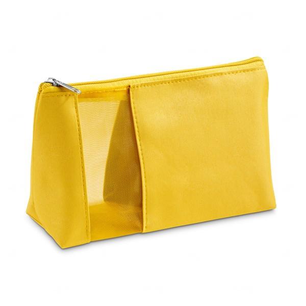 Necessaire Personalizada para Cosméticos Amarelo