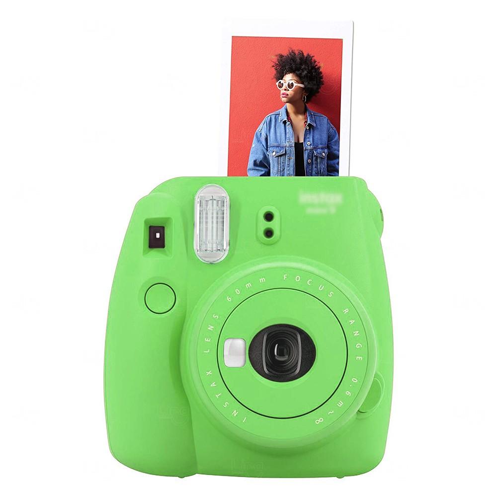 Câmera Fotográfica Instantânea Personalizada Verde Chá