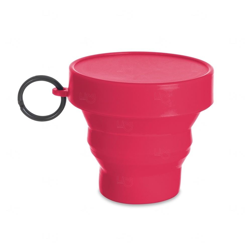 Copo Personalizado Dobrável - 150 ml Rosa