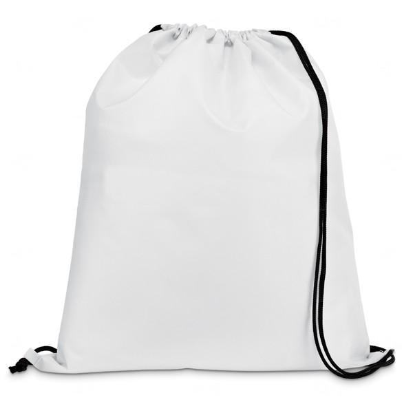 Saco Mochila Personalizada Branco