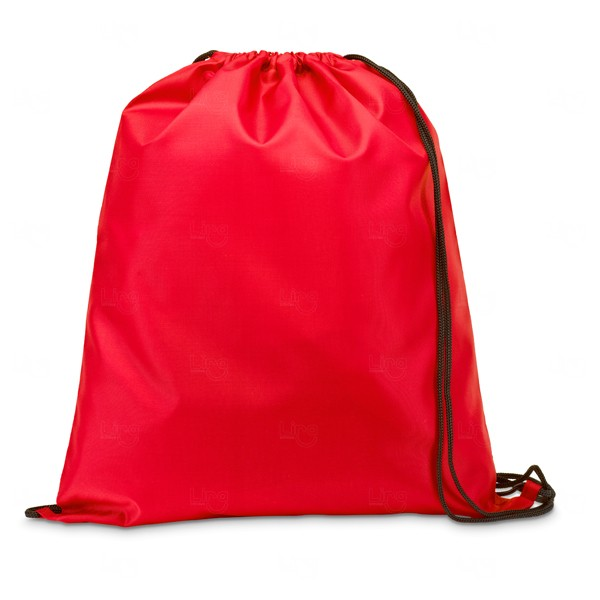 Saco Mochila Personalizada Vermelho