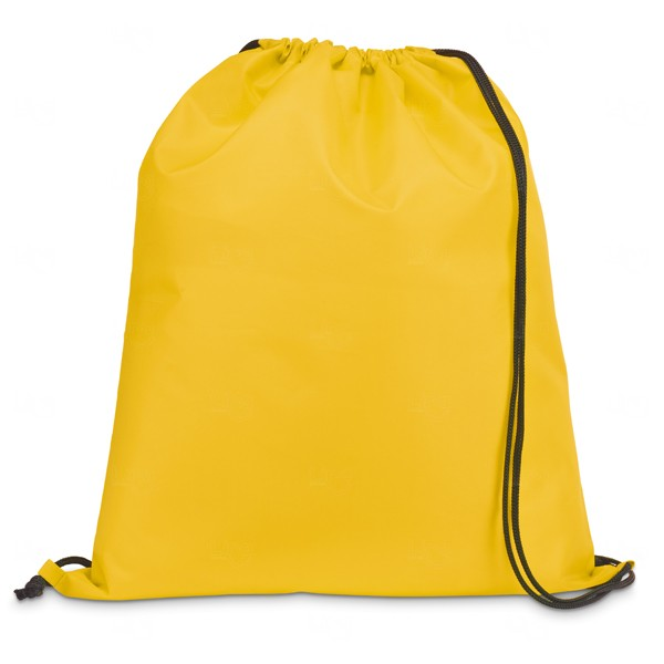Saco Mochila Personalizada Amarelo