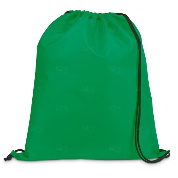 Saco Mochila Personalizada Verde