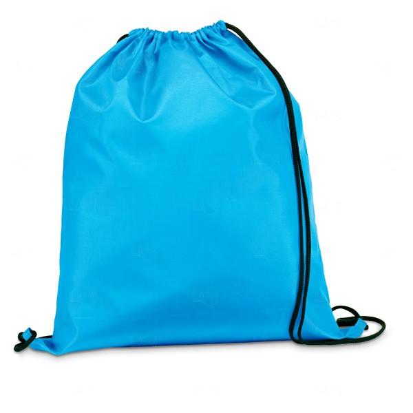 Saco Mochila Personalizada Azul Claro