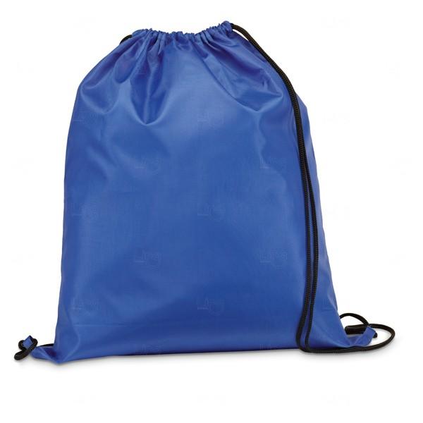 Saco Mochila Personalizada Azul