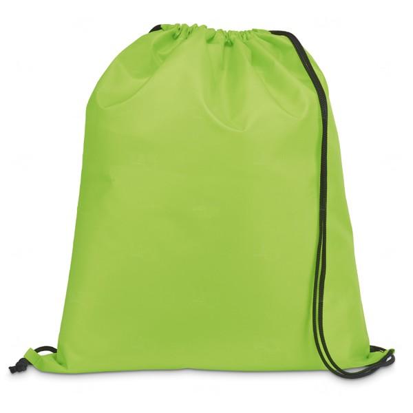 Saco Mochila Personalizada Verde Claro