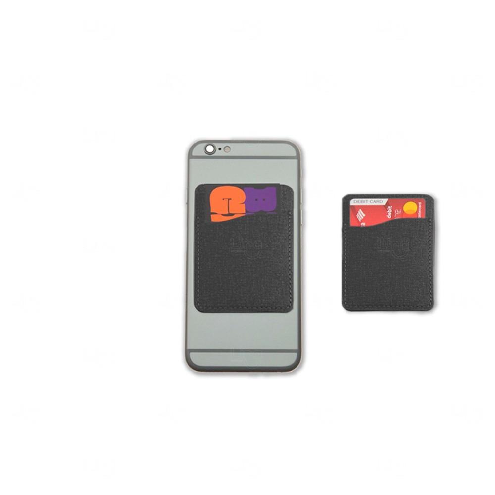 Porta Cartão Personalizado de Poliéster