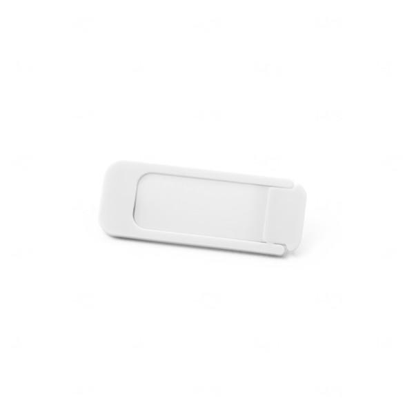 Protetor de Webcam Personalizado Branco