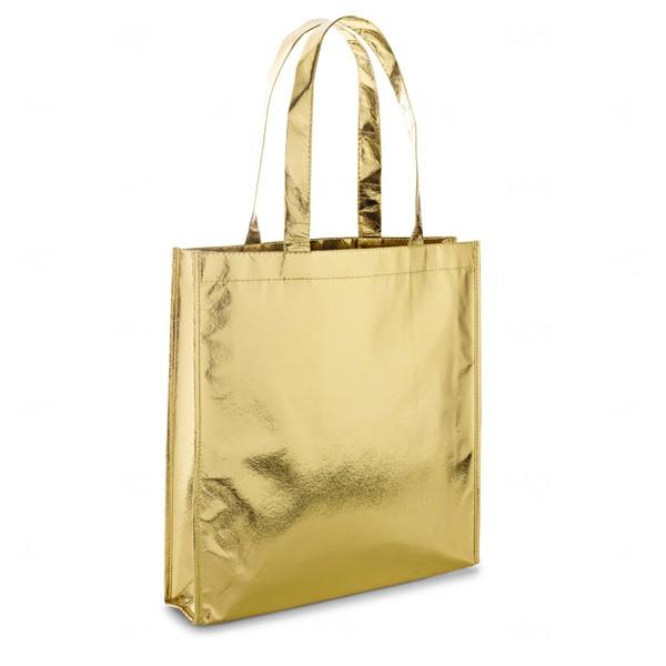 Sacola Personalizada Laminada Dourado