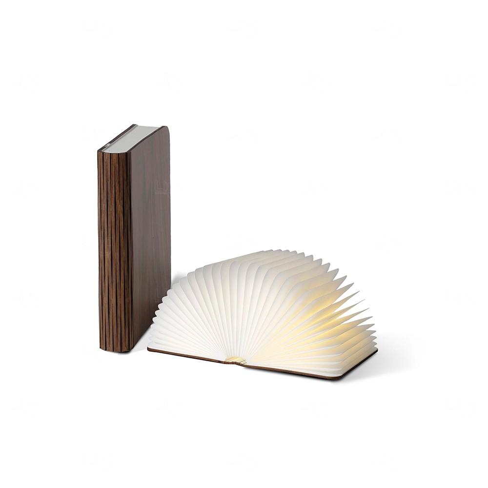 Luminária Personalizada Livro Madeira