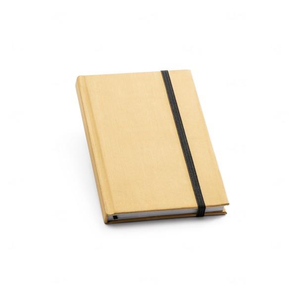 Caderno Personalizado Capa Dura Dourado