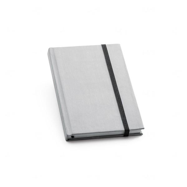 Caderno Personalizado Capa Dura Prata