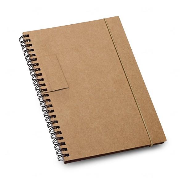 Caderno Personalizado Ecológico Preto