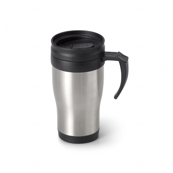 Caneca Térmica Personalizada - 420 ml Preto