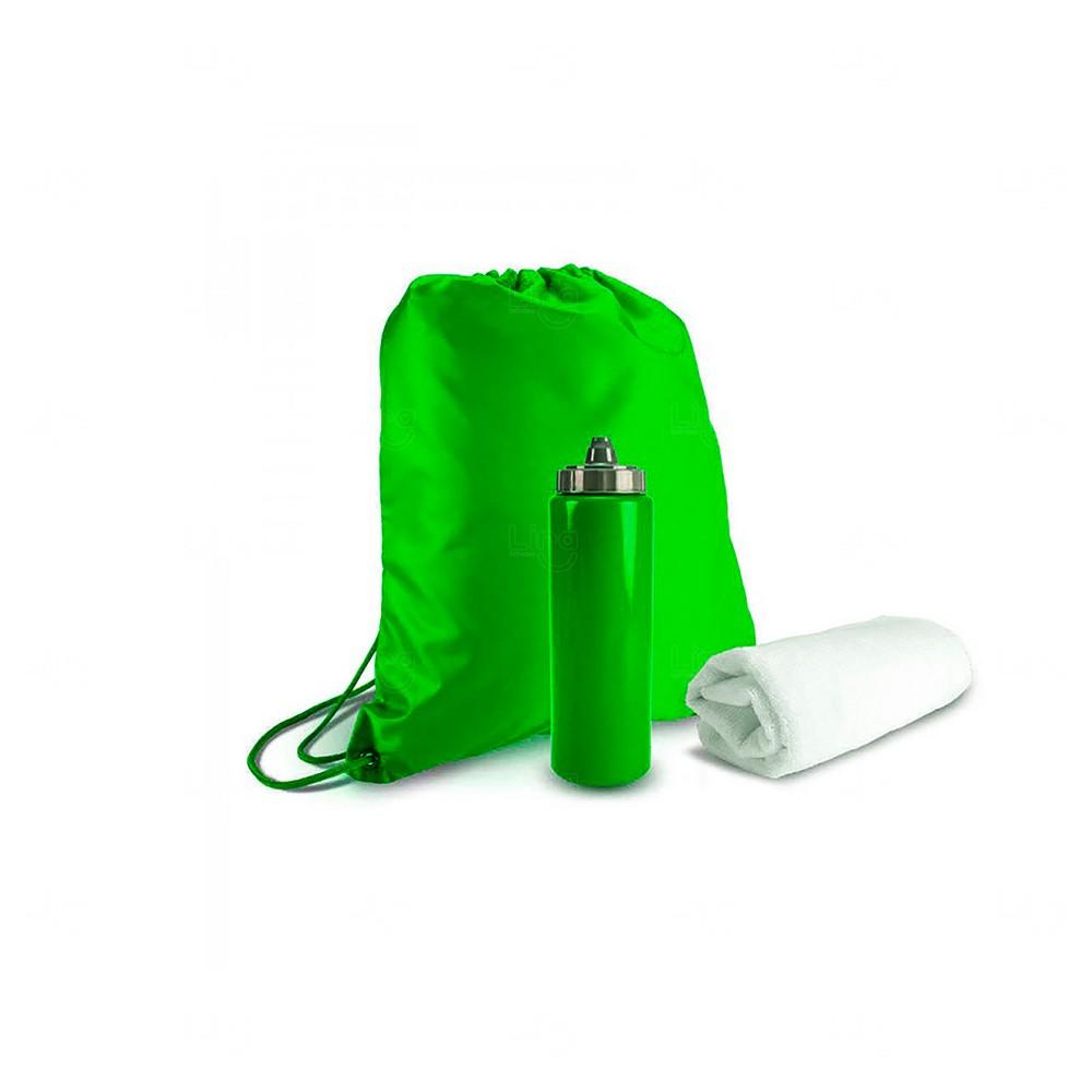 Kit Academia Personalizado Verde