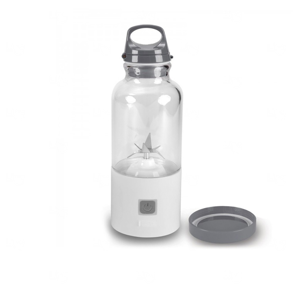 Mini Liquidificador Personalizado Adventure - 500 ml Cinza