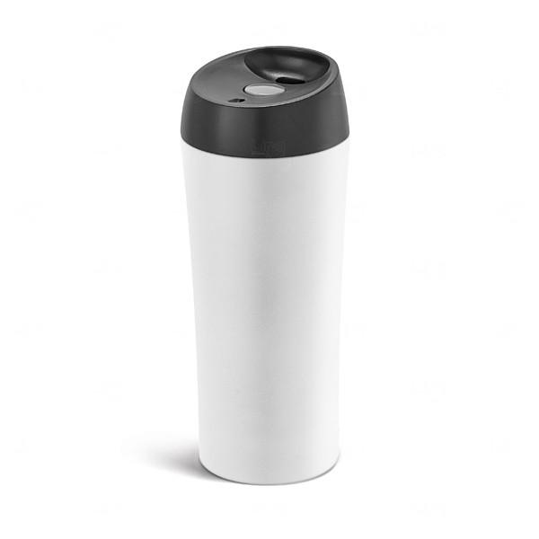 Copo Térmico Inox Personalizada - 470 ml Branco