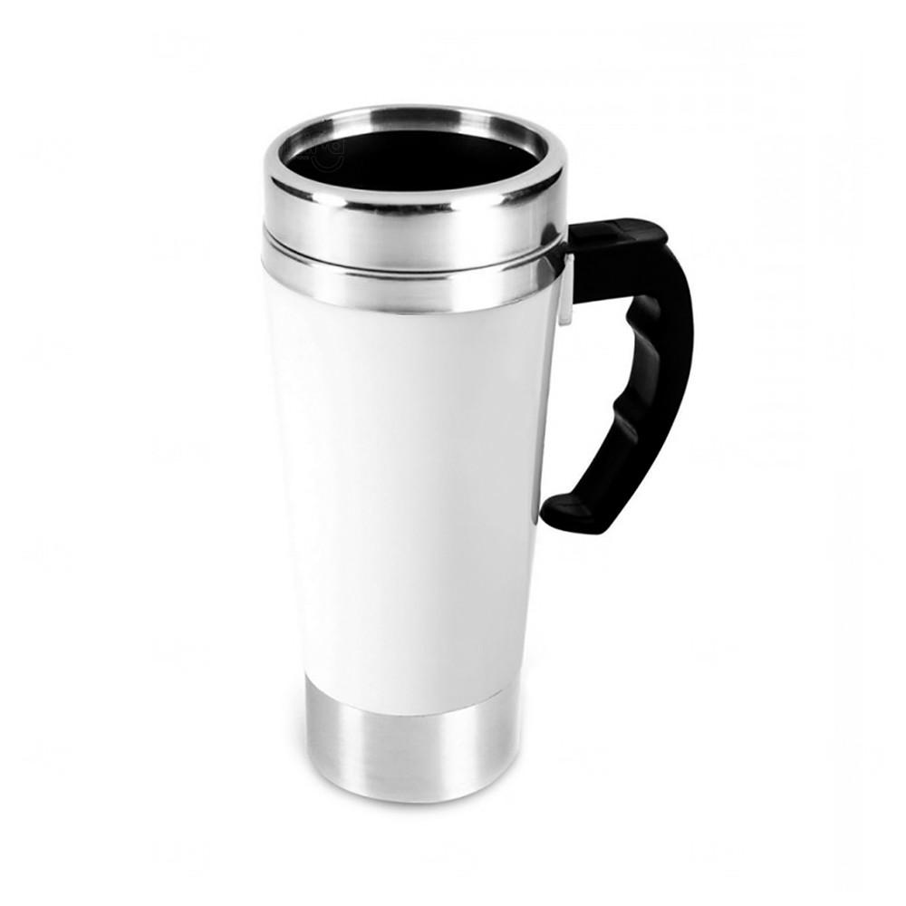 Caneca Térmica Personalizada Mixer - 500 ml Branco