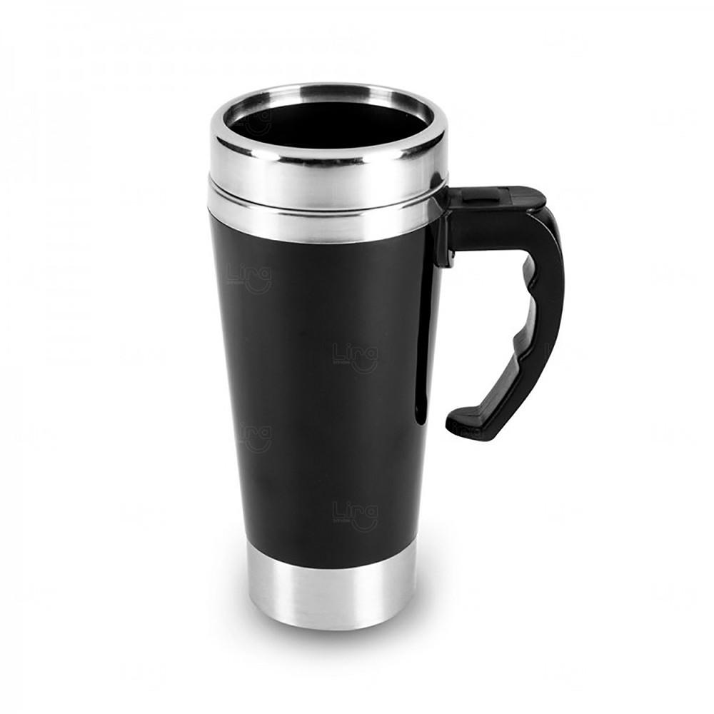 Caneca Térmica Personalizada Mixer - 500 ml Preto