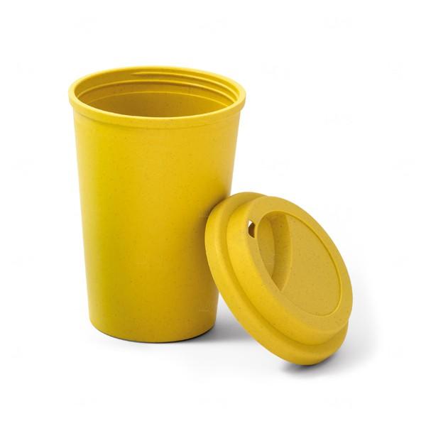 Copo Personalizado Colorido Amarelo