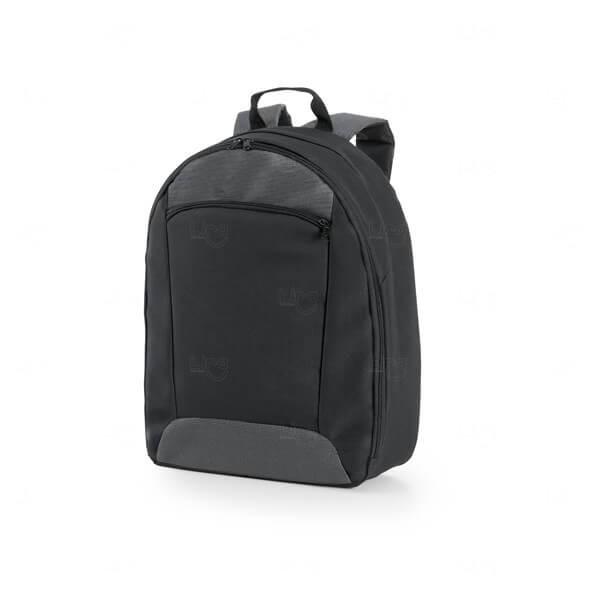 Mochila para Notebook Basic Personalizada Preto