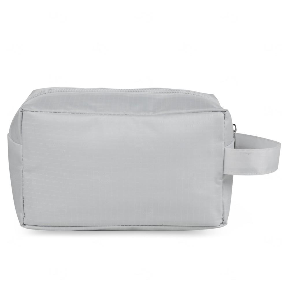 Necessaire De Pvc C/ Forro Polyester Personalizado Branco