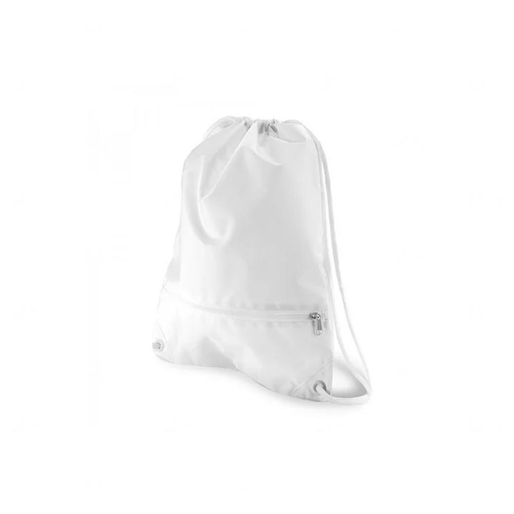 Sacola Tipo Mochila Personalizada Branco