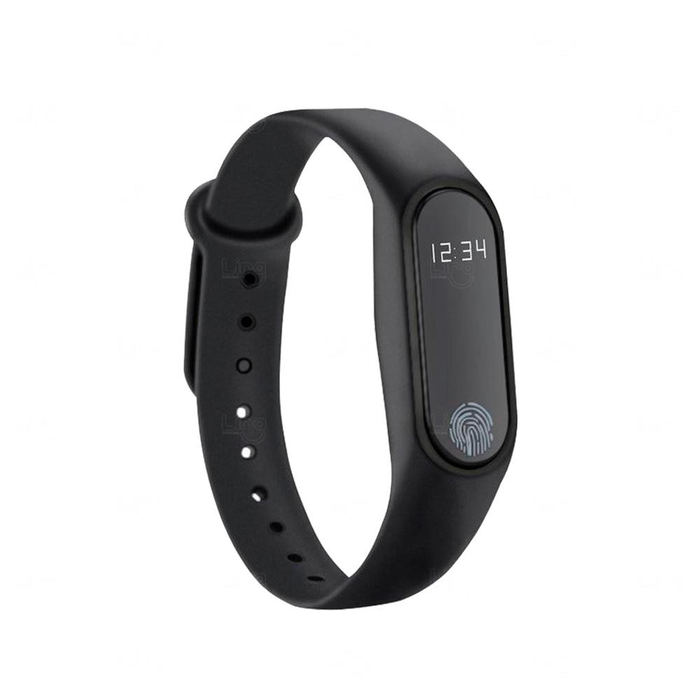 Relógio Smartband Black Pearl 2 Personalizada