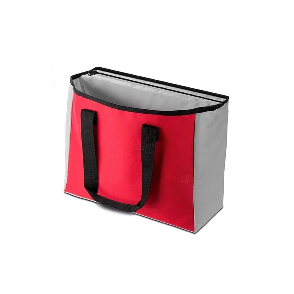 Sacola Térmica Personalizada - 22,5  Litros Vermelho