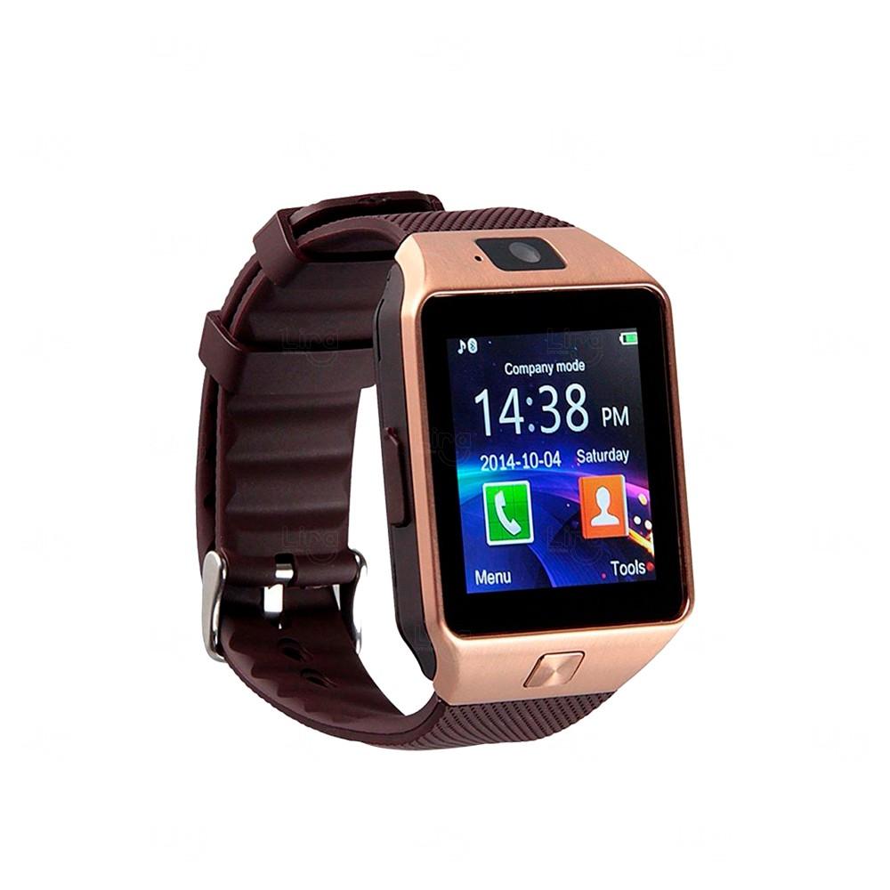Relógio Smartwatch Personalizado Connect Cobre