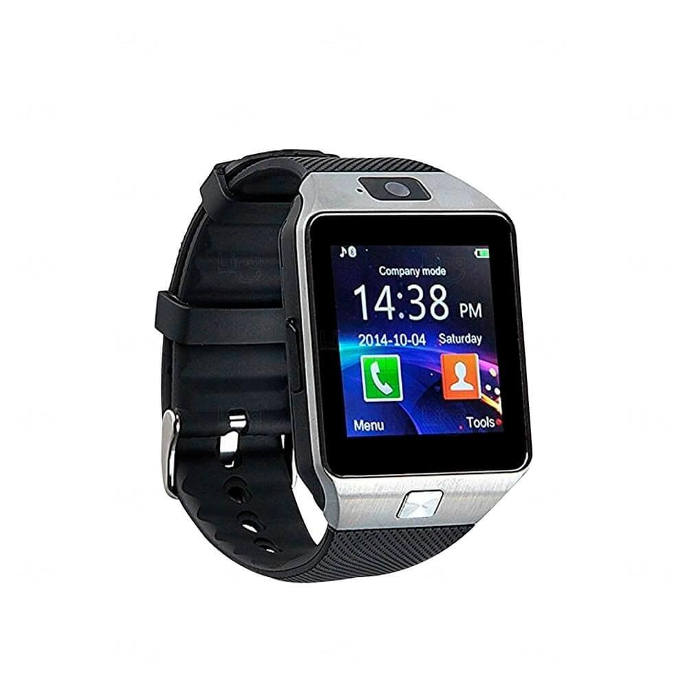 Relógio Smartwatch Personalizado Connect Prata