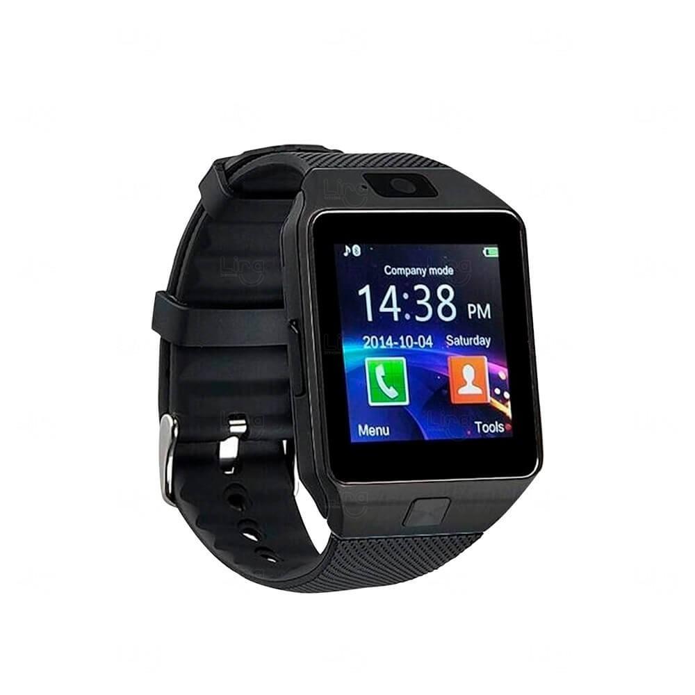 Relógio Smartwatch Personalizado Connect Preto