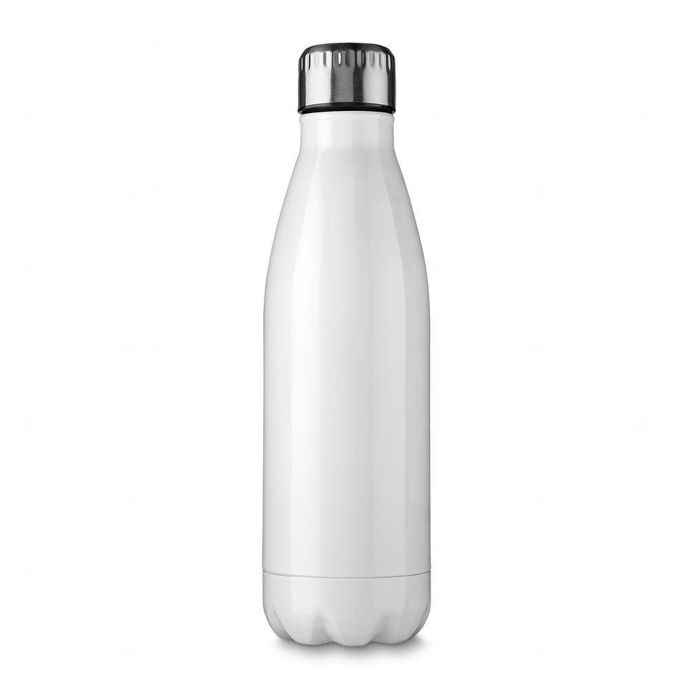 Garrafa de Inox Personalizada - 750 ml Branco