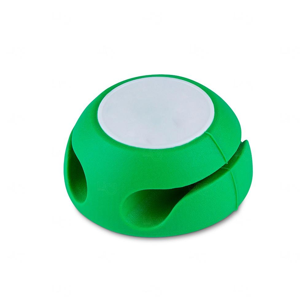 Organizador de Cabos Rainbow Personalizado Verde